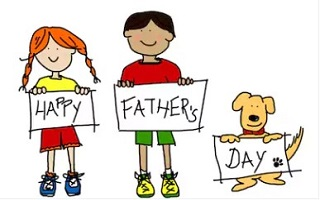 fathers day father. Respect clipart happy dad