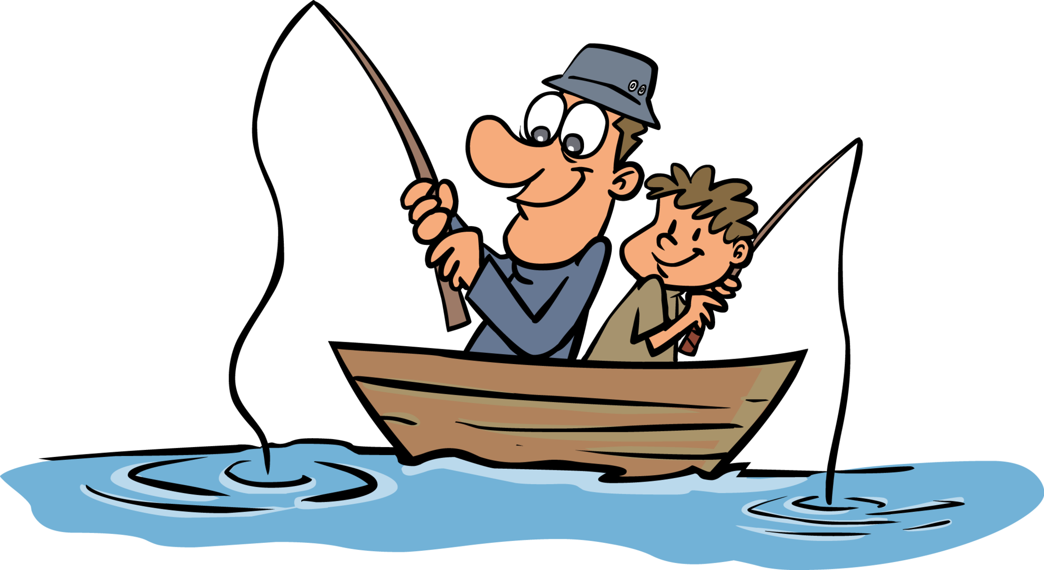 Father clipart fish.  collection of go