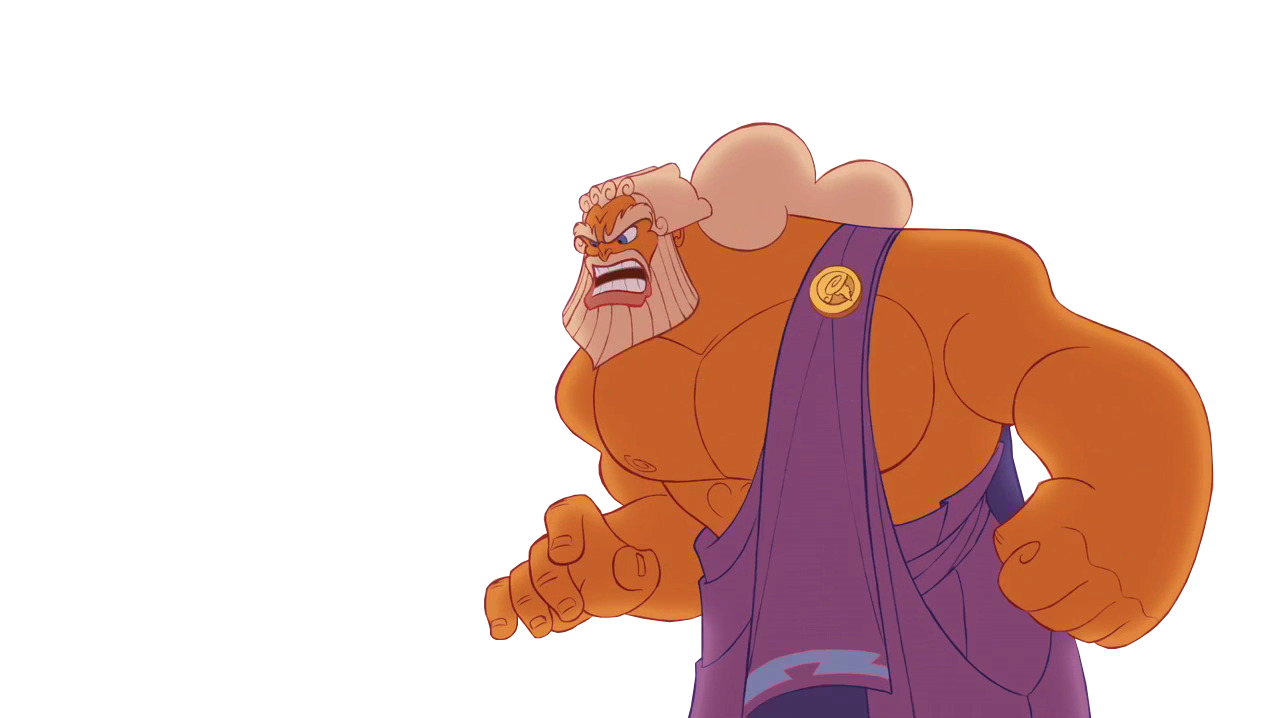 Zeus disney pencil and. Father clipart grown up