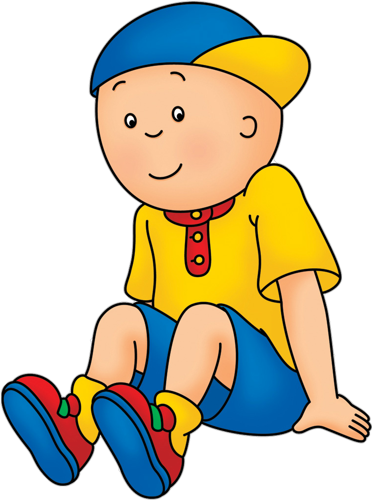 Pbs kids all caillou. Father clipart grown up