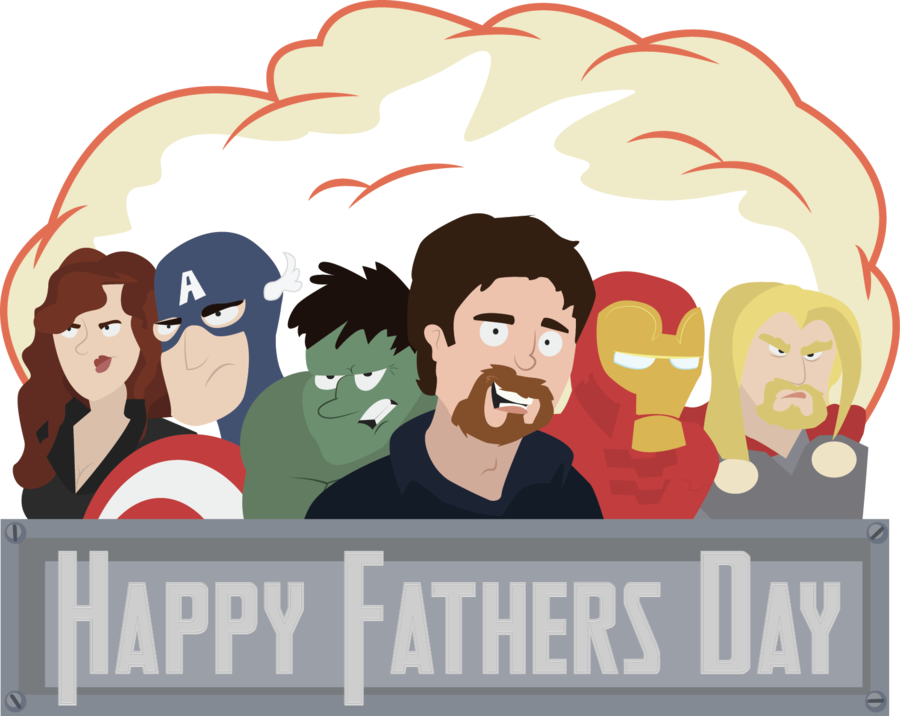 Father clipart happy dad. And the avengers by