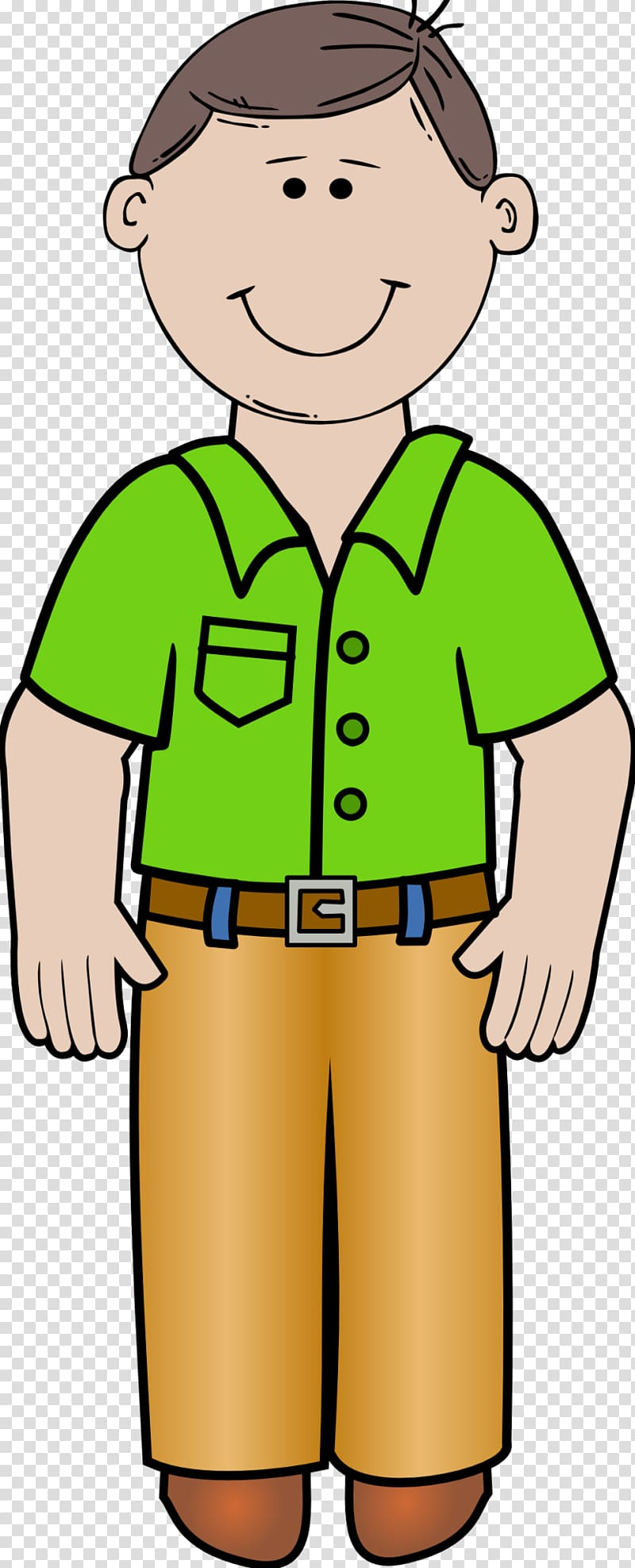 Father clipart human standing. Dad transparent background png