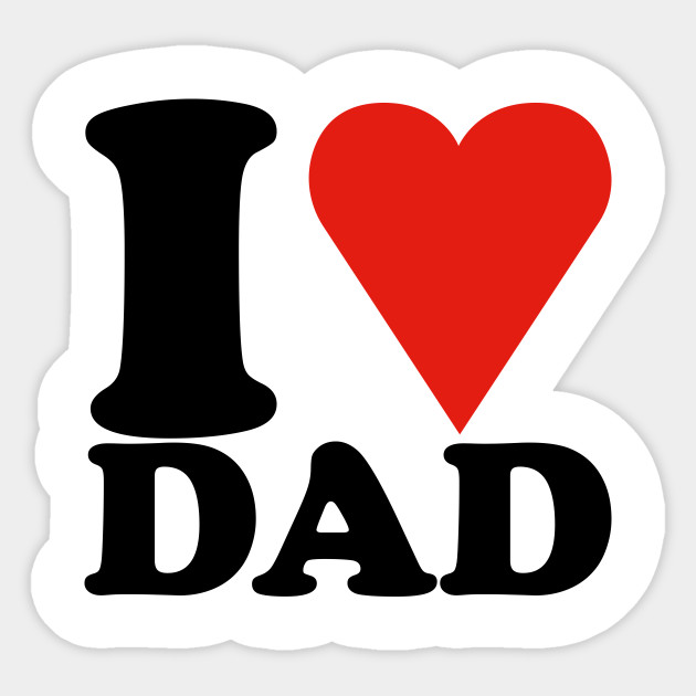 Father clipart loving dad. I love daddy
