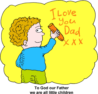 Image boy writing i. Father clipart loving dad
