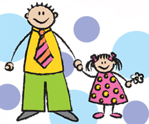 Won t talk to. Father clipart me and my dad