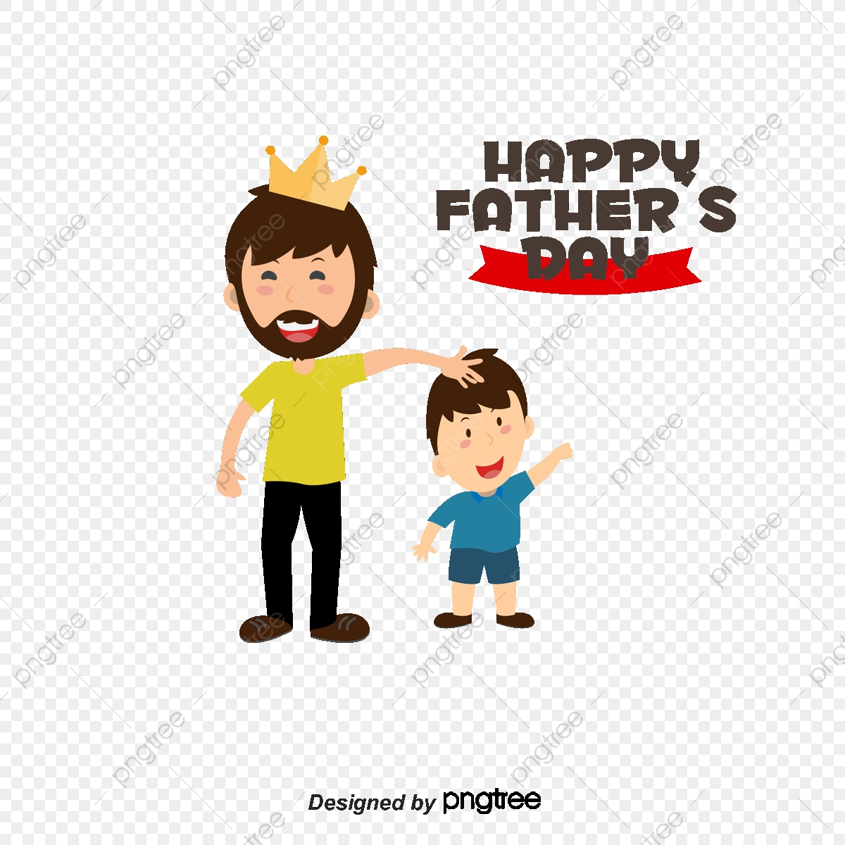 Father clipart me and my dad. Daddy vector material s