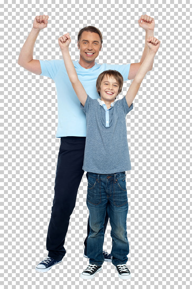 Stock photography son family. Father clipart middle aged man