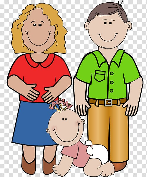Daughter parent family transparent. Father clipart mother child