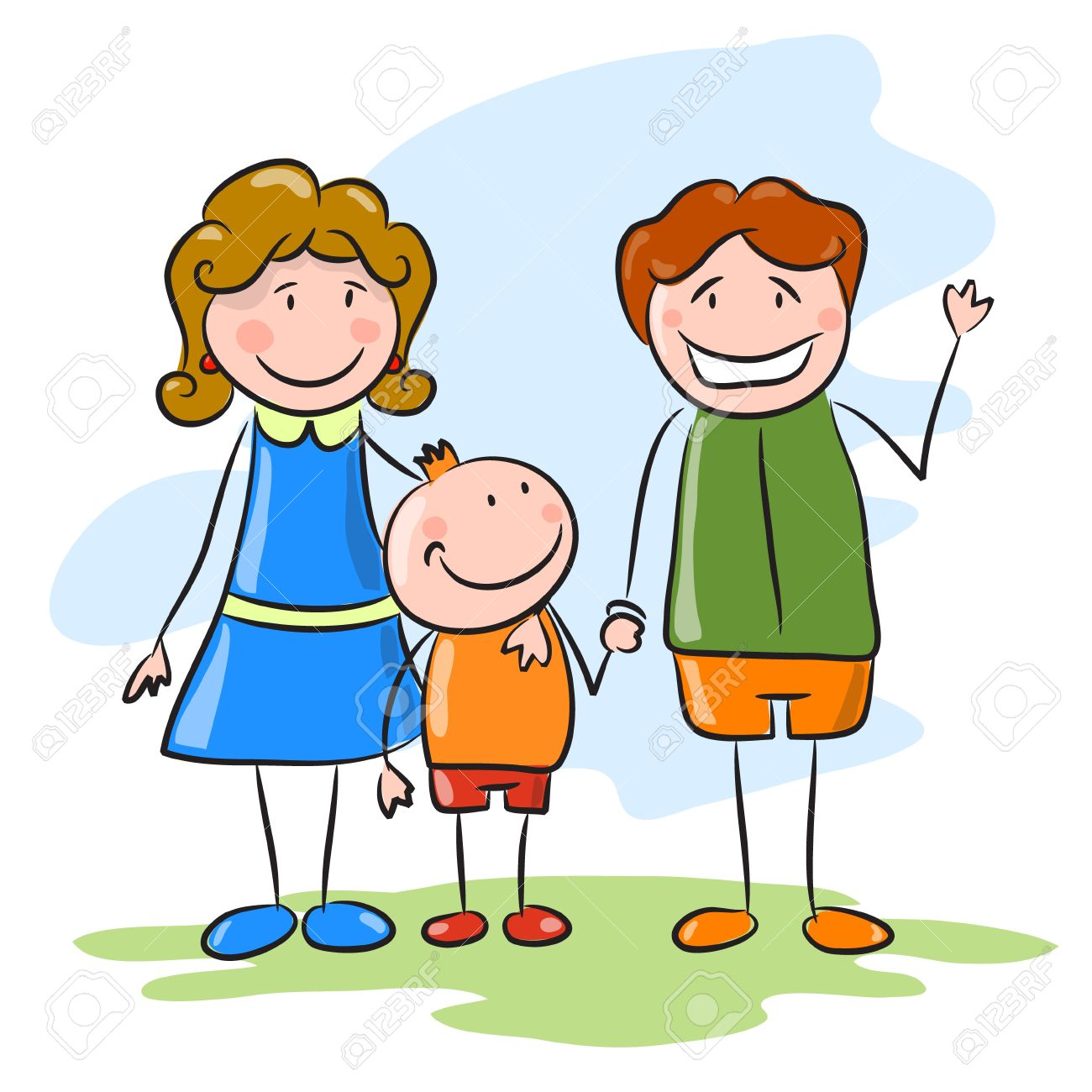 And free download best. Father clipart mother child