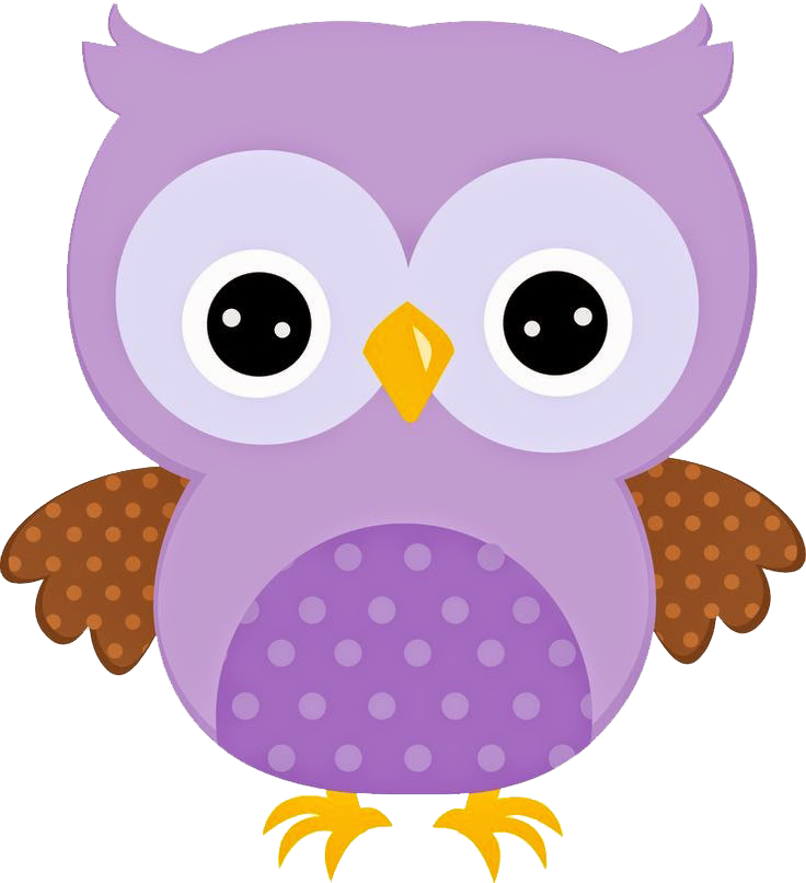 Owls clipart wallpaper. Corujinha lilas imagens png