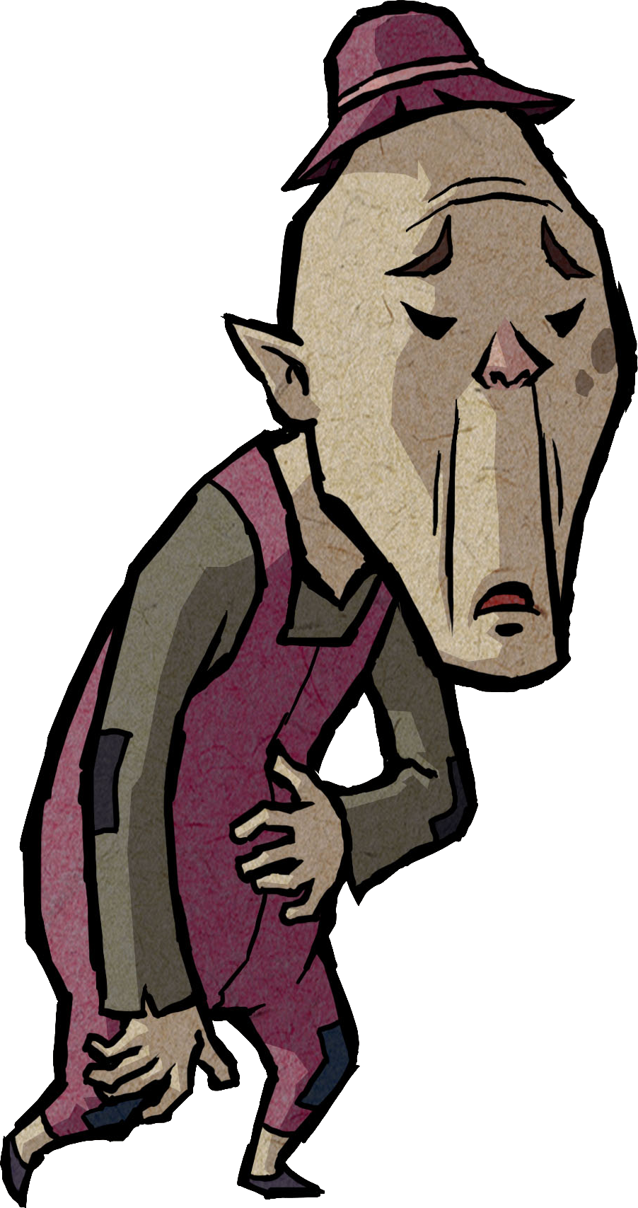 Maggie s zelda wiki. Father clipart poor father
