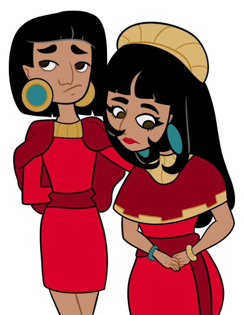 Father clipart respect parent. Kuzco s parents by