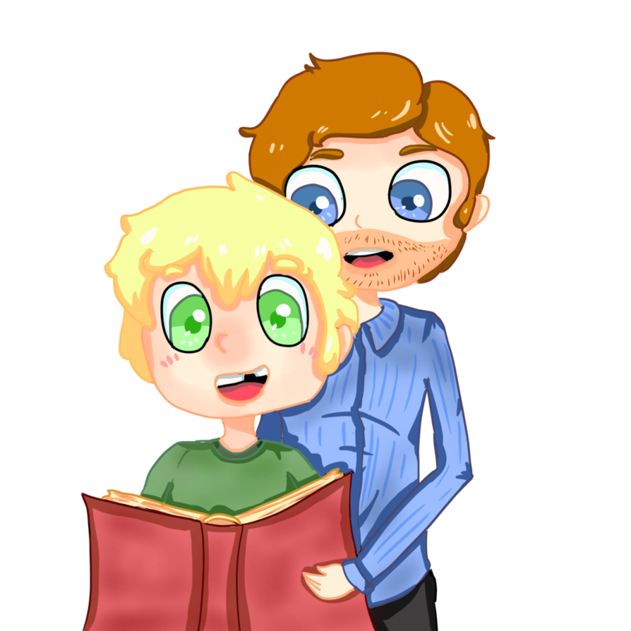 Dad clipart storytime. Vervian and his ryan