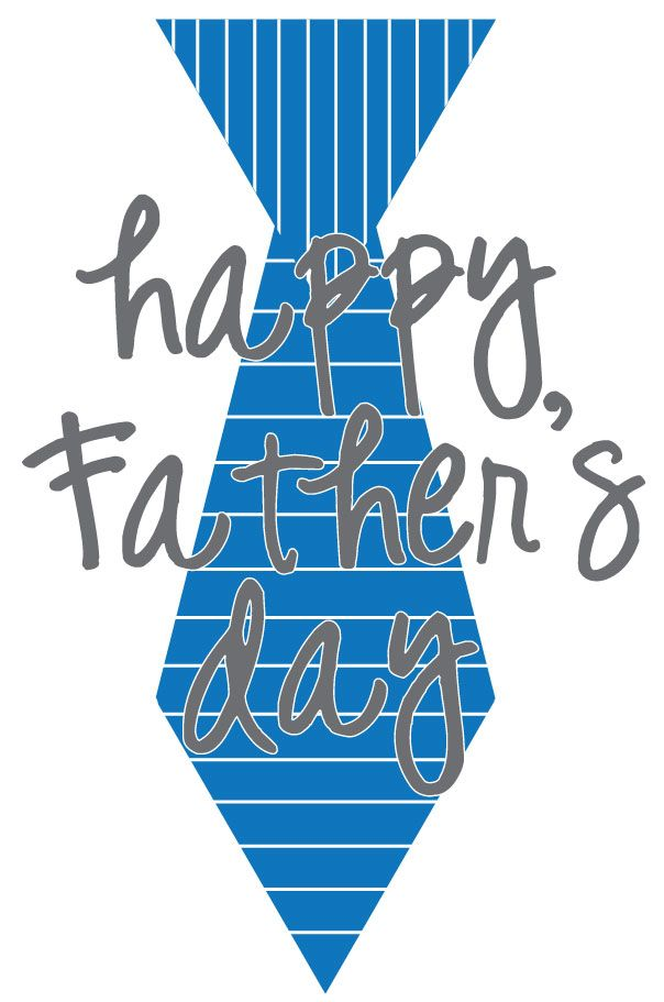S day free . Father clipart tie