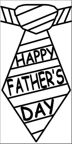 Father clipart tie. Clip art happy s