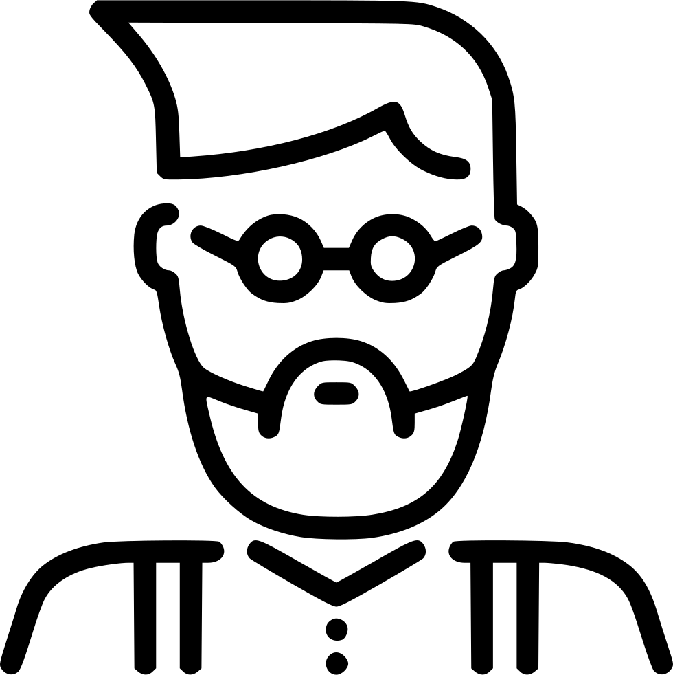 Father clipart uncle. Hipster svg png icon