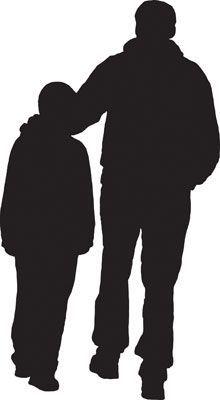 Free cliparts download clip. Father clipart walking
