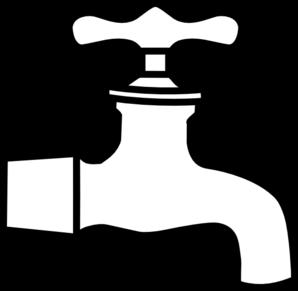 Clip art at clker. Faucet clipart