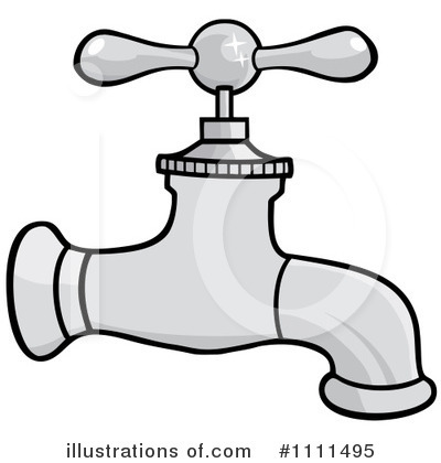 Illustration by hit toon. Faucet clipart