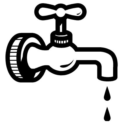 . Faucet clipart