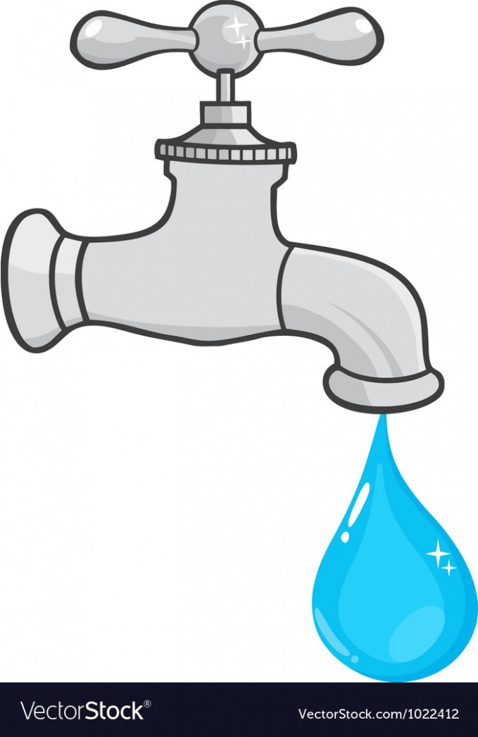Faucet clipart. Water drawing at getdrawings