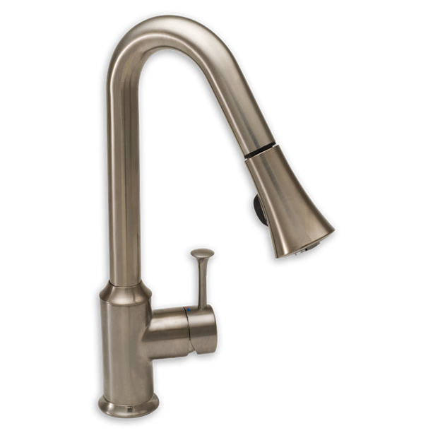 Faucet clipart broken sink. Pekoe handle pull down