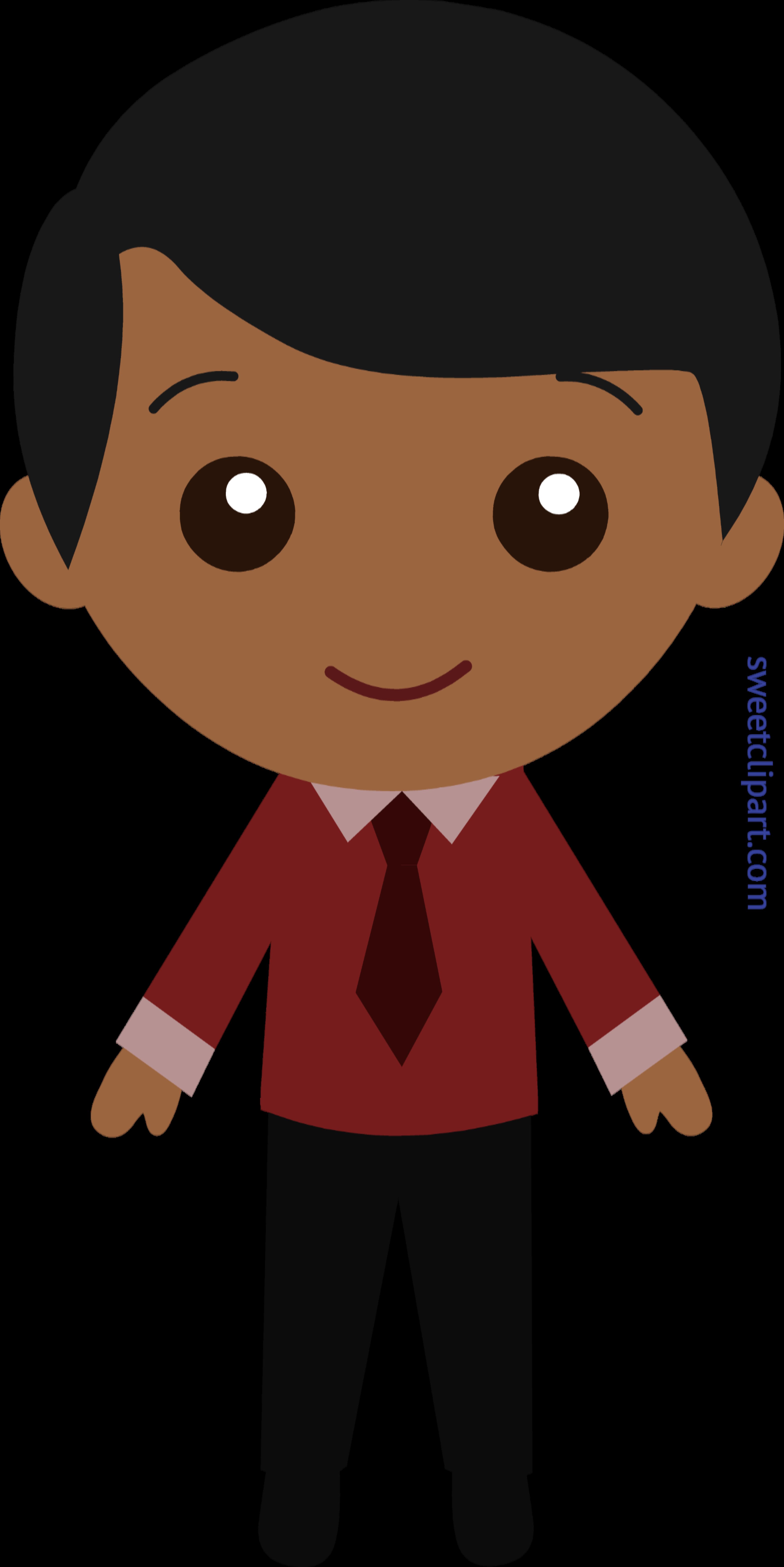 Little guy in suit. Faucet clipart classroom