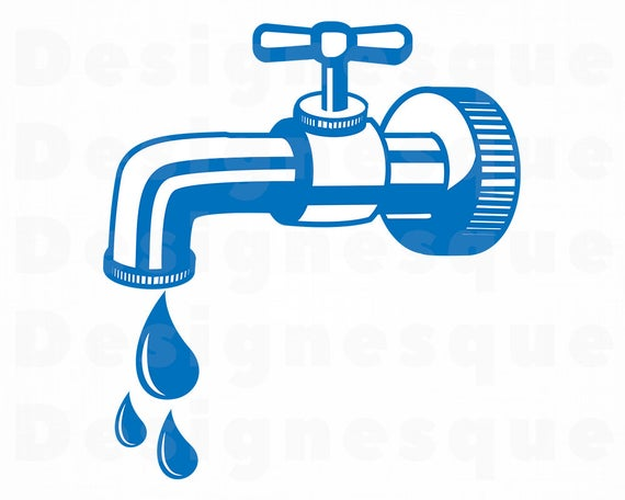 Svg plumber files for. Faucet clipart classroom
