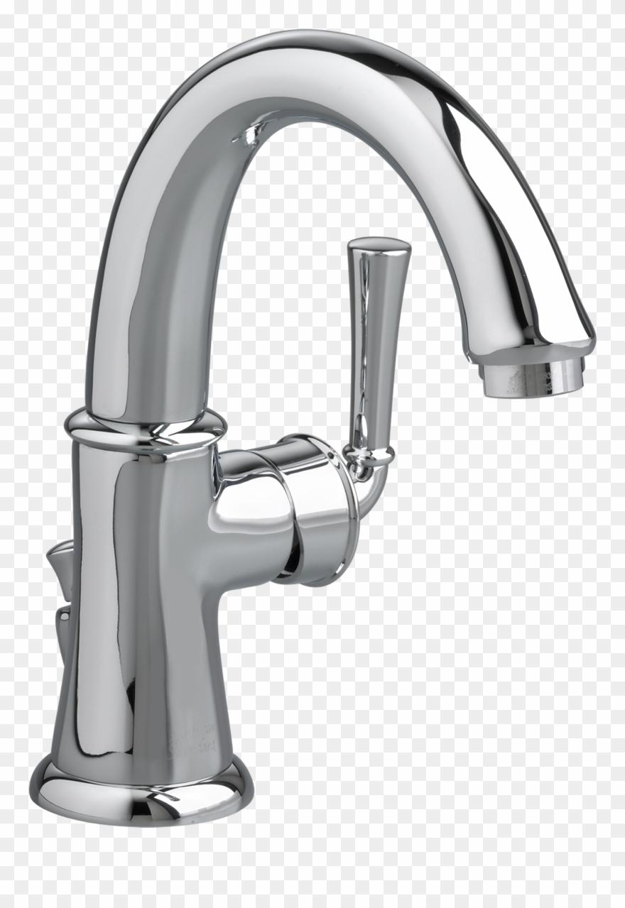 Faucet clipart fauset. Single hole swivel bathroom