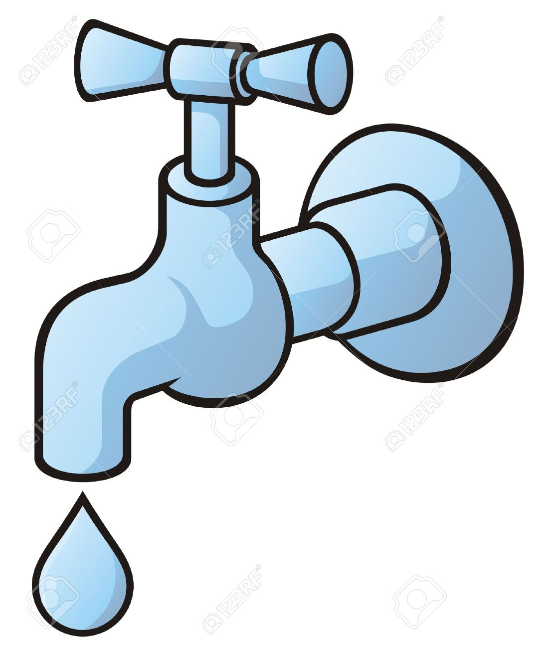 Faucet clipart leaky faucet. Free download best on