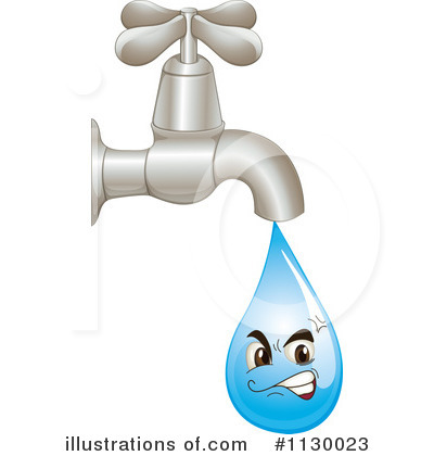 Plumber clipart dripping faucet. Illustration by graphics rf