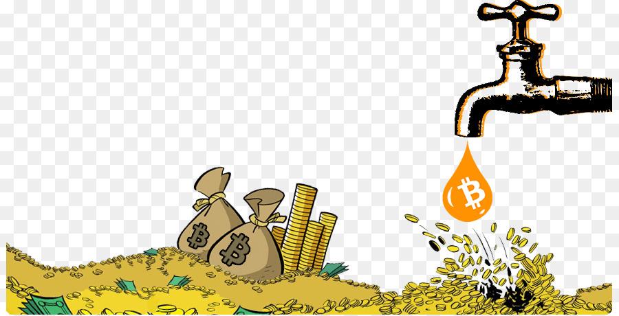 Cartoon cloud yellow text. Faucet clipart money