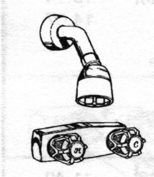 Faucet clipart shower faucet. Free download clip art