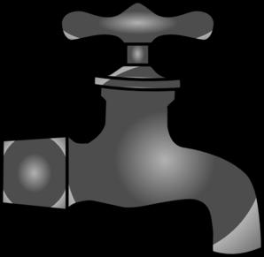 Faucet clipart vector. Clip art at clker