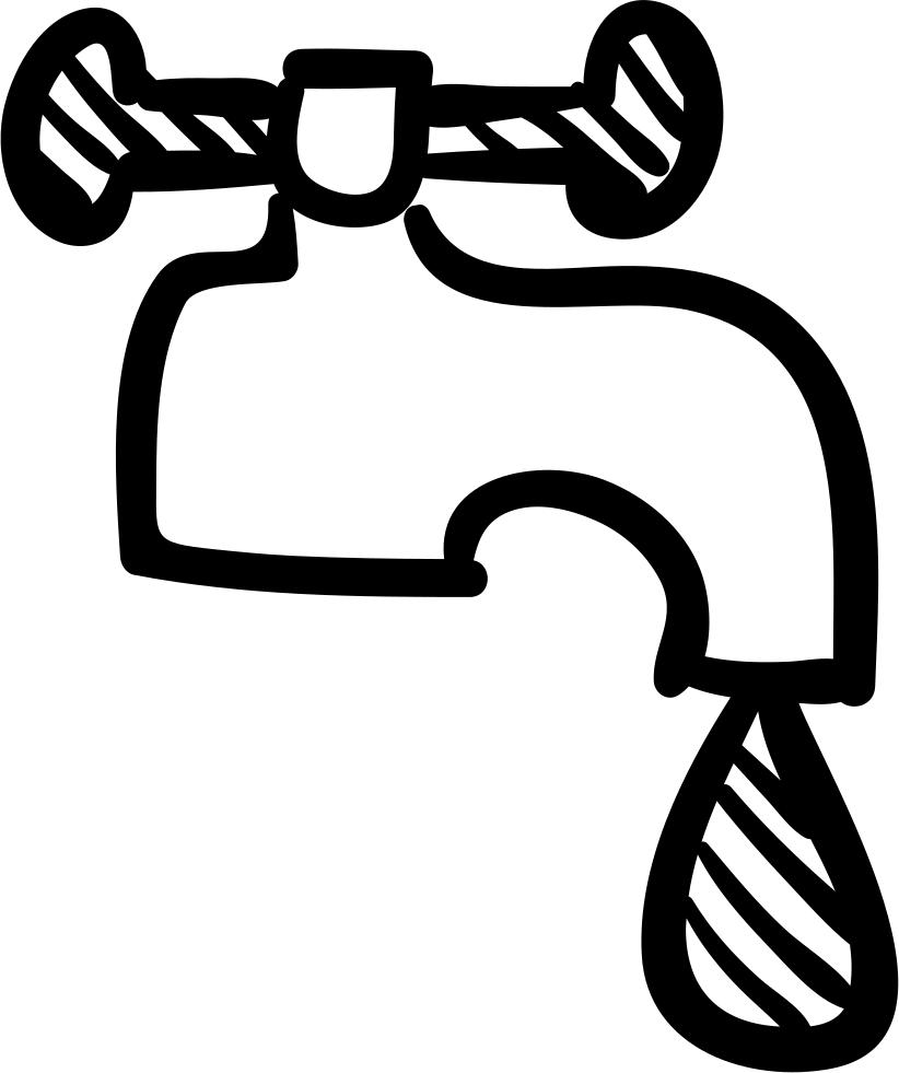 Tap at getdrawings com. Faucet clipart water drawing