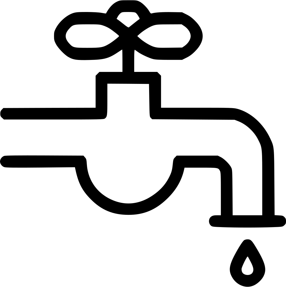 faucet clipart water droplet