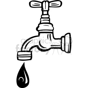 Faucet clipart water quality. Eco royalty free