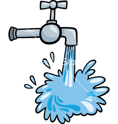 Faucet clipart watertap.  water clipartlook