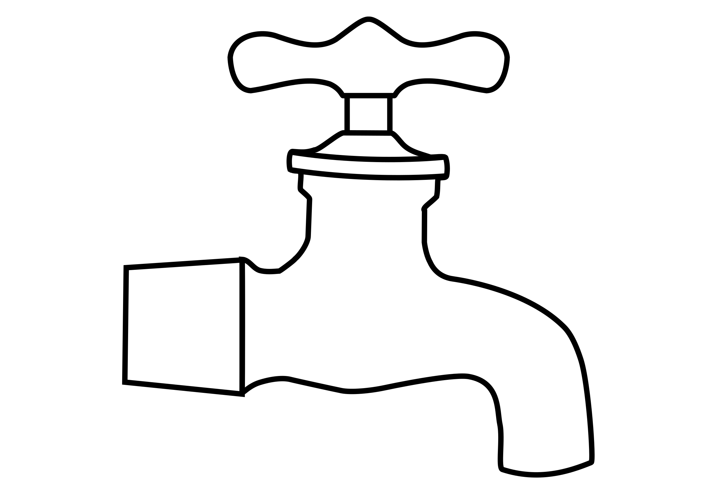 Collection of free fosset. Faucet clipart watertap