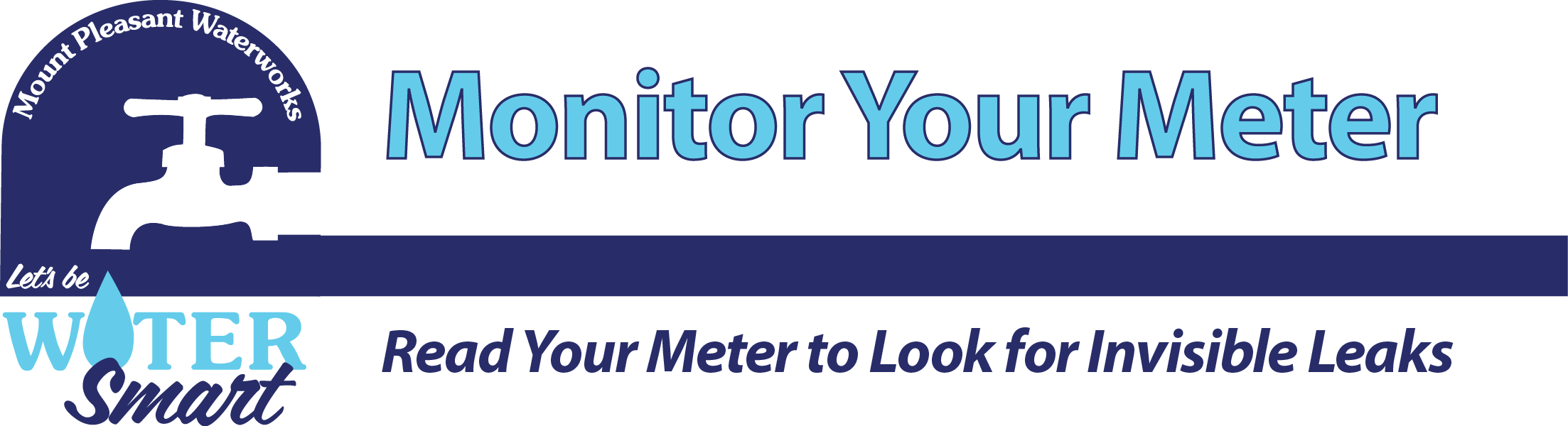 Monitor your meter mount. Faucet clipart waterworks