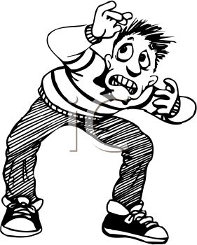 Fear clipart. Panda free images fearclipart