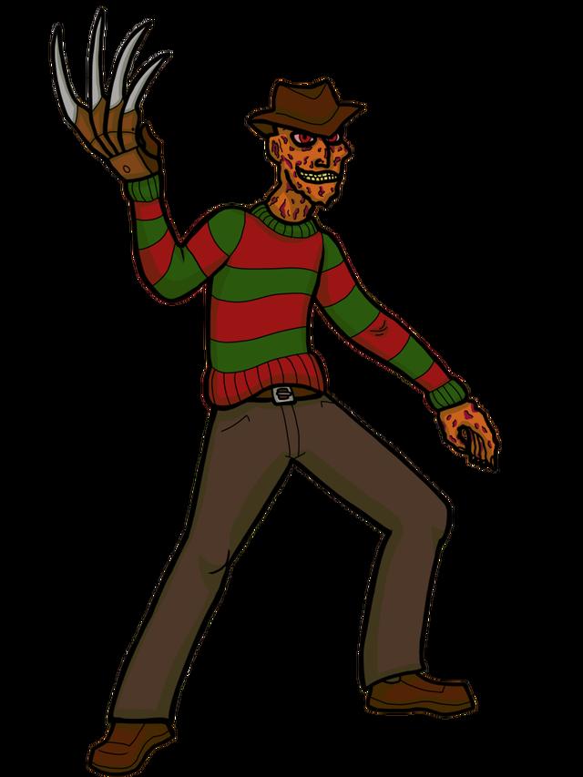 Fear clipart boogeyman. Ichf freddy krueger horror