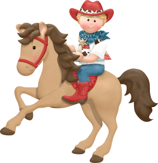 Horses clipart boy. Personnages illustration individu personne