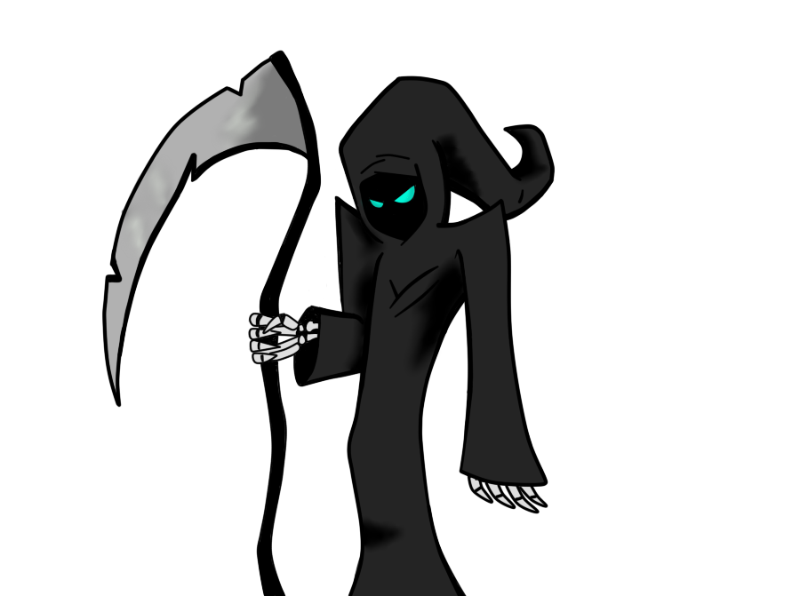 Don t the reaper. Fear clipart drawing