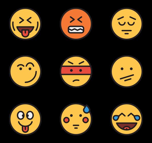 Fear clipart emoticon. Icons free vector emoticons