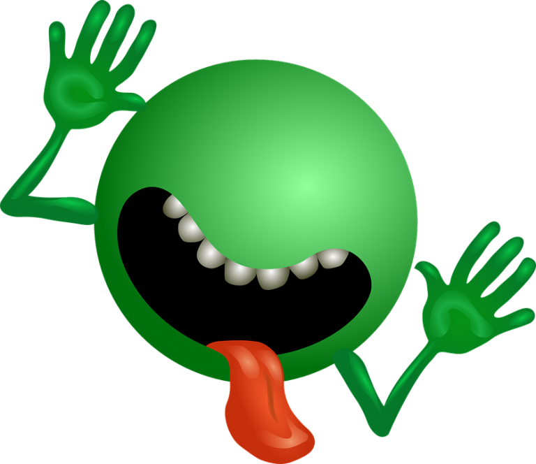 face panic symbol. Fear clipart fear expression