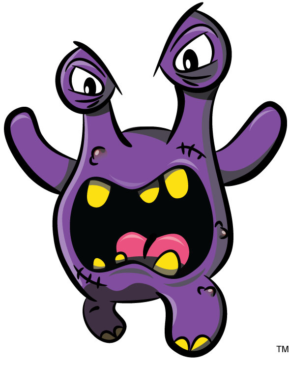 Monster telephone training and. Fear clipart feeling