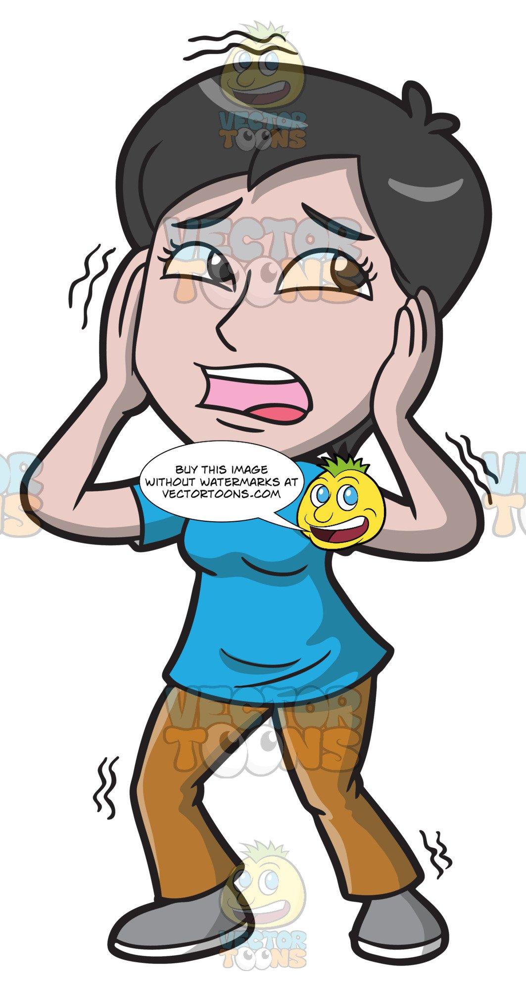 Nervous Child Cartoon Images, Stock Photos & Vectors   Shutterstock