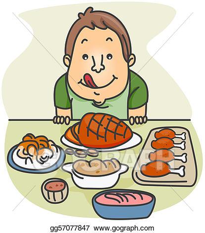 Clip art food stock. Feast clipart company dinner