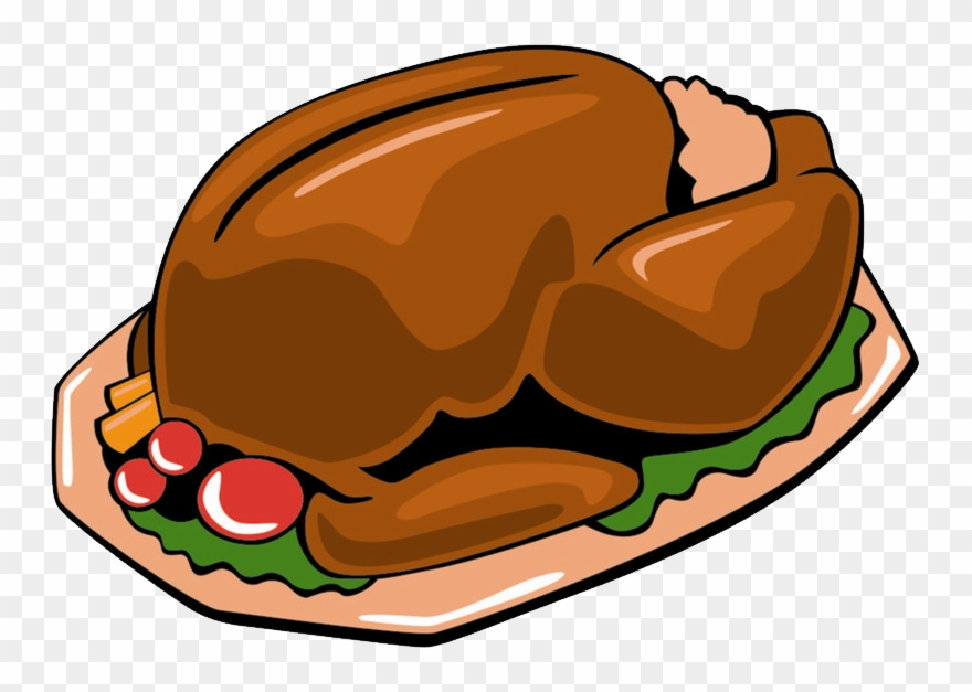Food png transparent . Feast clipart cooked turkey